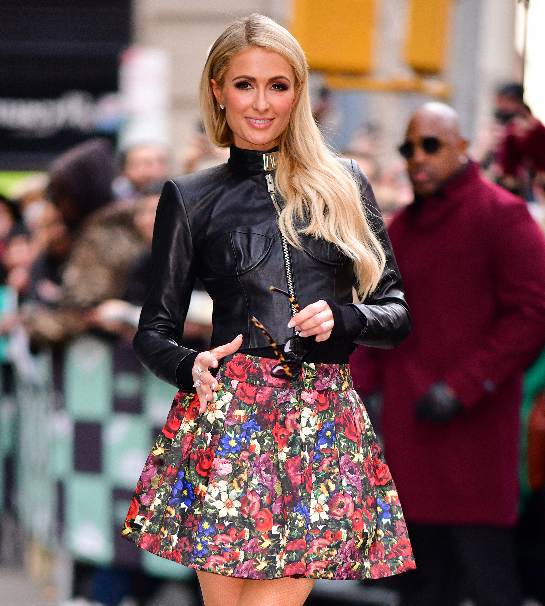 Paris Hilton So Happy After Chris Zylka Split - Paris Hilton leaves Build Studios on December 19, 2018 in New York City.