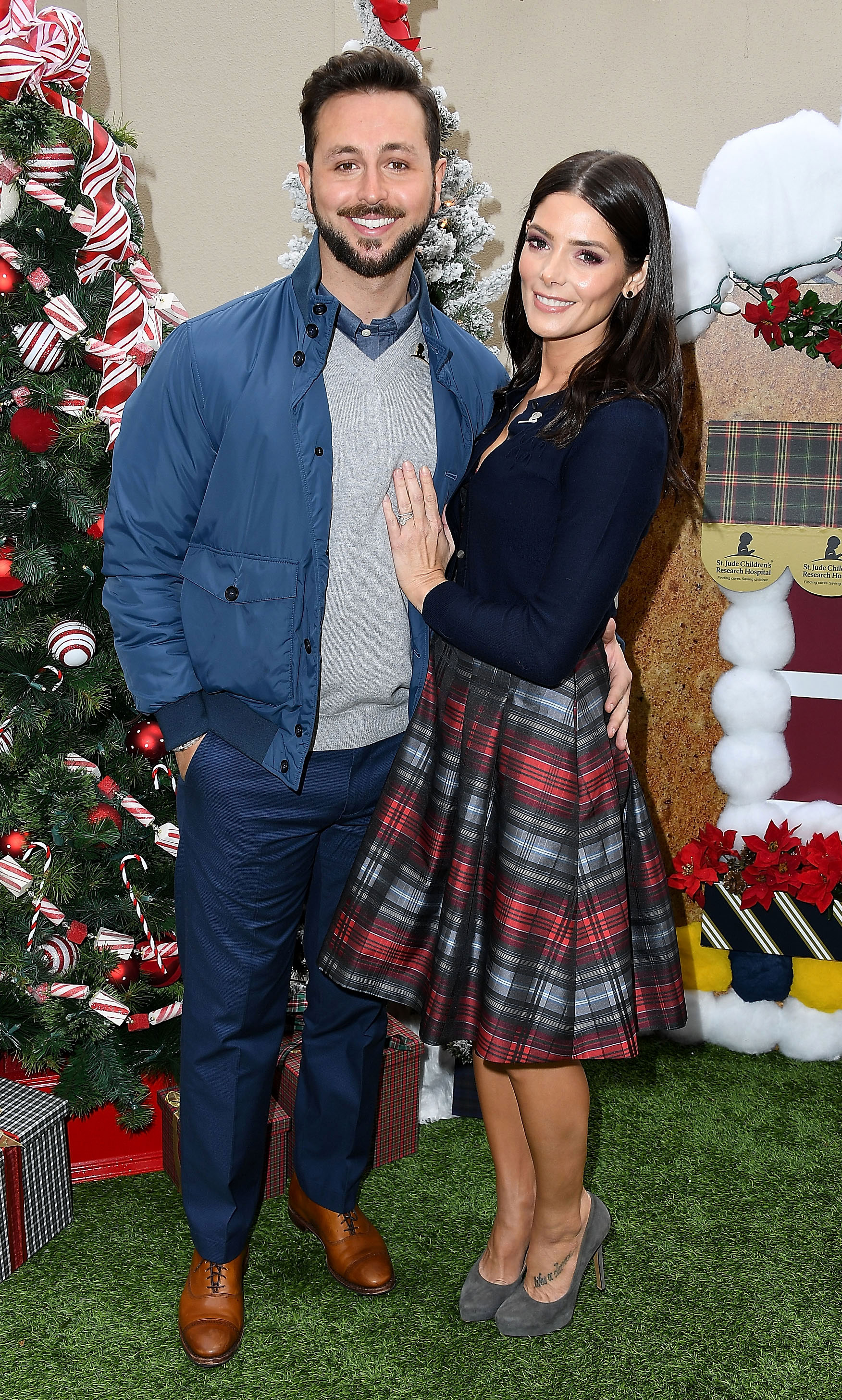 Ashley Greene Gushes About Married Life: 'It's Been Really Wonderful' - Paul Khoury and Ashley Greene at The Brooks Brothers Hosts Annual Holiday Celebration In Los Angeles To Benefit St. Jude on December 9, 2018 in Beverly Hills, California.