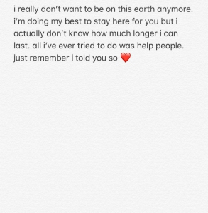 Pete Davidson Instagram post
