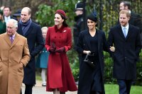 Prince William, Duchess Kate, Prince Harry and Duchess Meghan are All Smiles At Christmas Church Outing