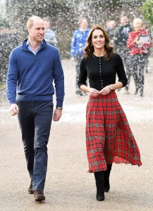 Prince William and Duchess Kate will no longer switch off spending Christmas with the royal family and the Middleton's