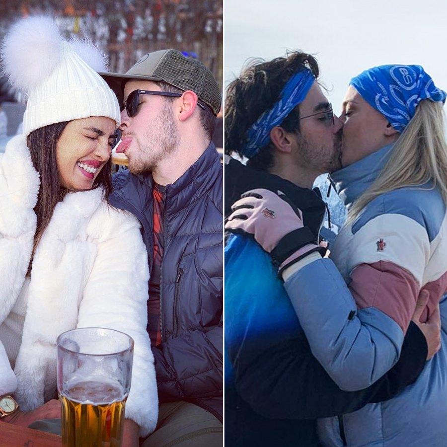 Priyanka Chopra Nick Jonas Joe Jonas Sophie Turner Ski Trip