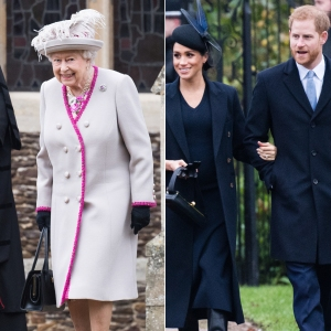 Queen Elizabeth II Adorably Nods to Prince Harry and Duchess Meghan's Baby in Holiday Message