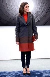 Queen-Letizia-Ortiz-of-Spain-color-block-coat