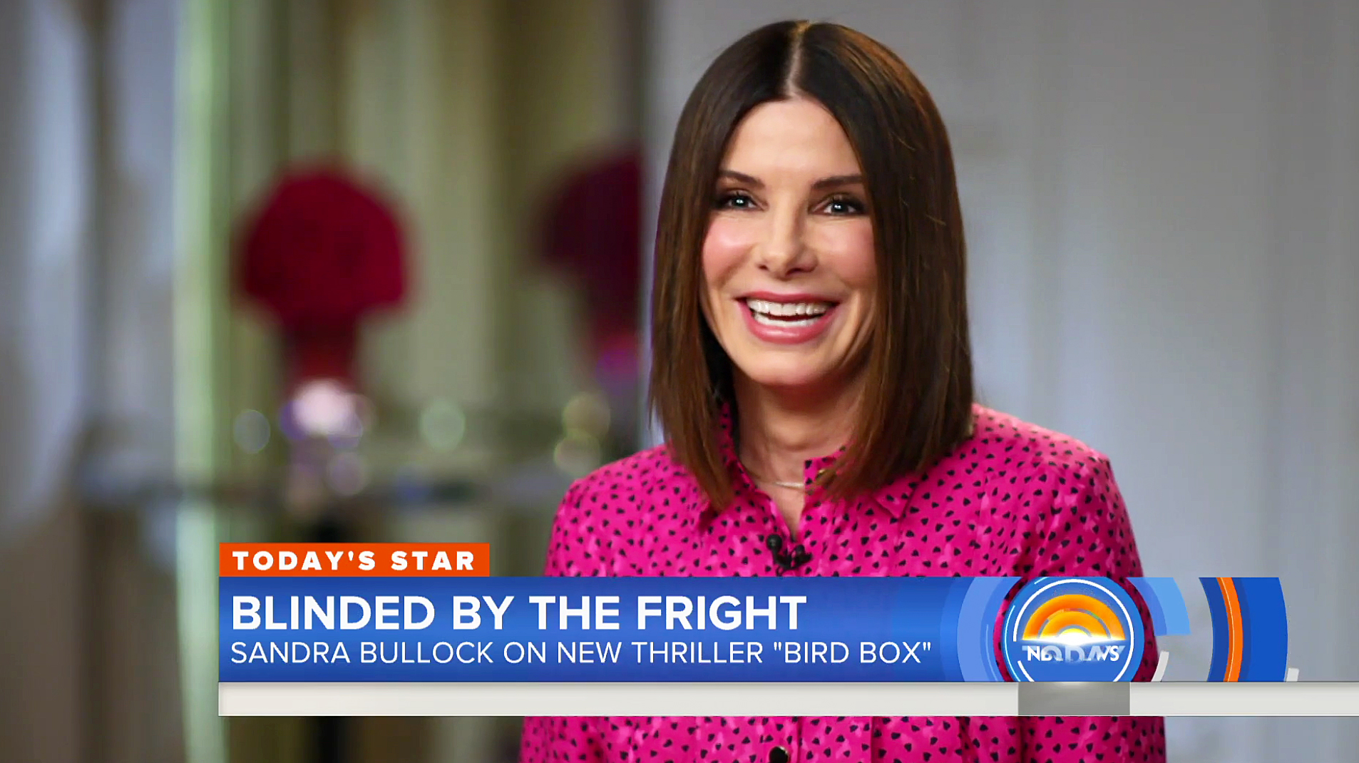 Sandra Bullock Today Show Kids Christmas Presents