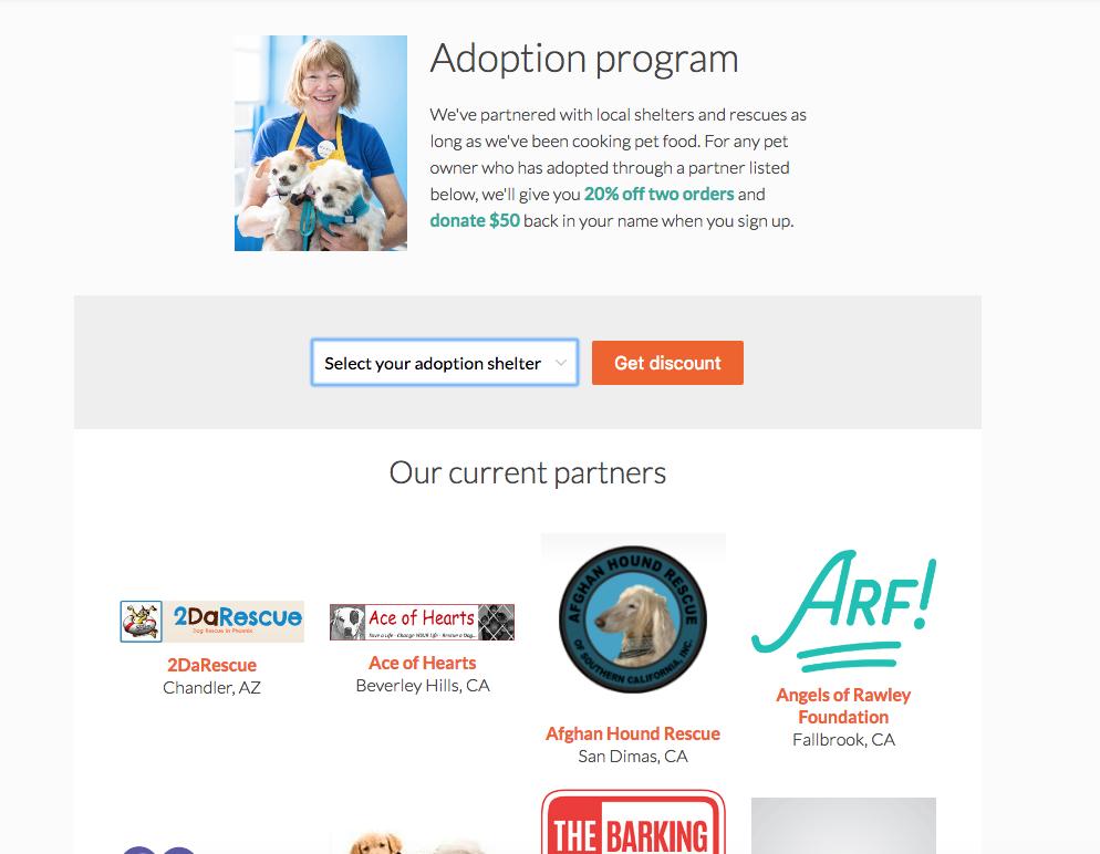 pet adoption services nom nom now