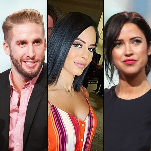 Shawn Booth, Charly Arnolt and Kaitlyn Bristowe