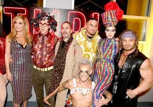 Sonja Morgan, Alan Cumming, Marc Jacobs, Char Defrancesco, Frankie Grande, Susanne Bartsch and David Barton
