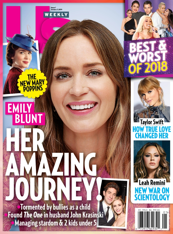 Us Weekly Cover Emily Blunt
