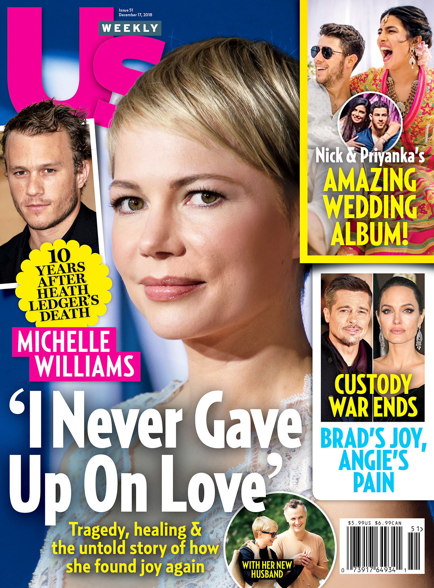 Us Weekly Cover Michelle Williams - UW5118 Us Weekly Cover Michelle Williams