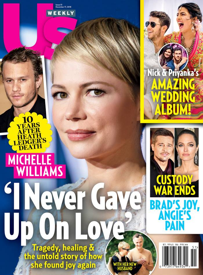 Us Weekly Cover Michelle Williams