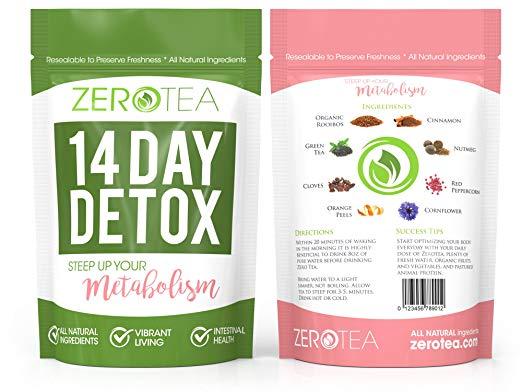 Zero Tea 14 Day Detox Tea