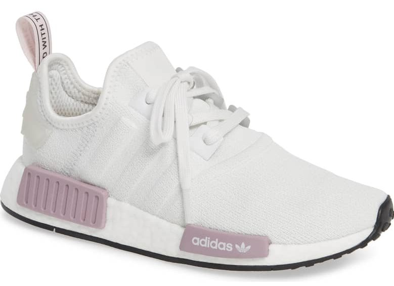 adidas sneaker white and pink