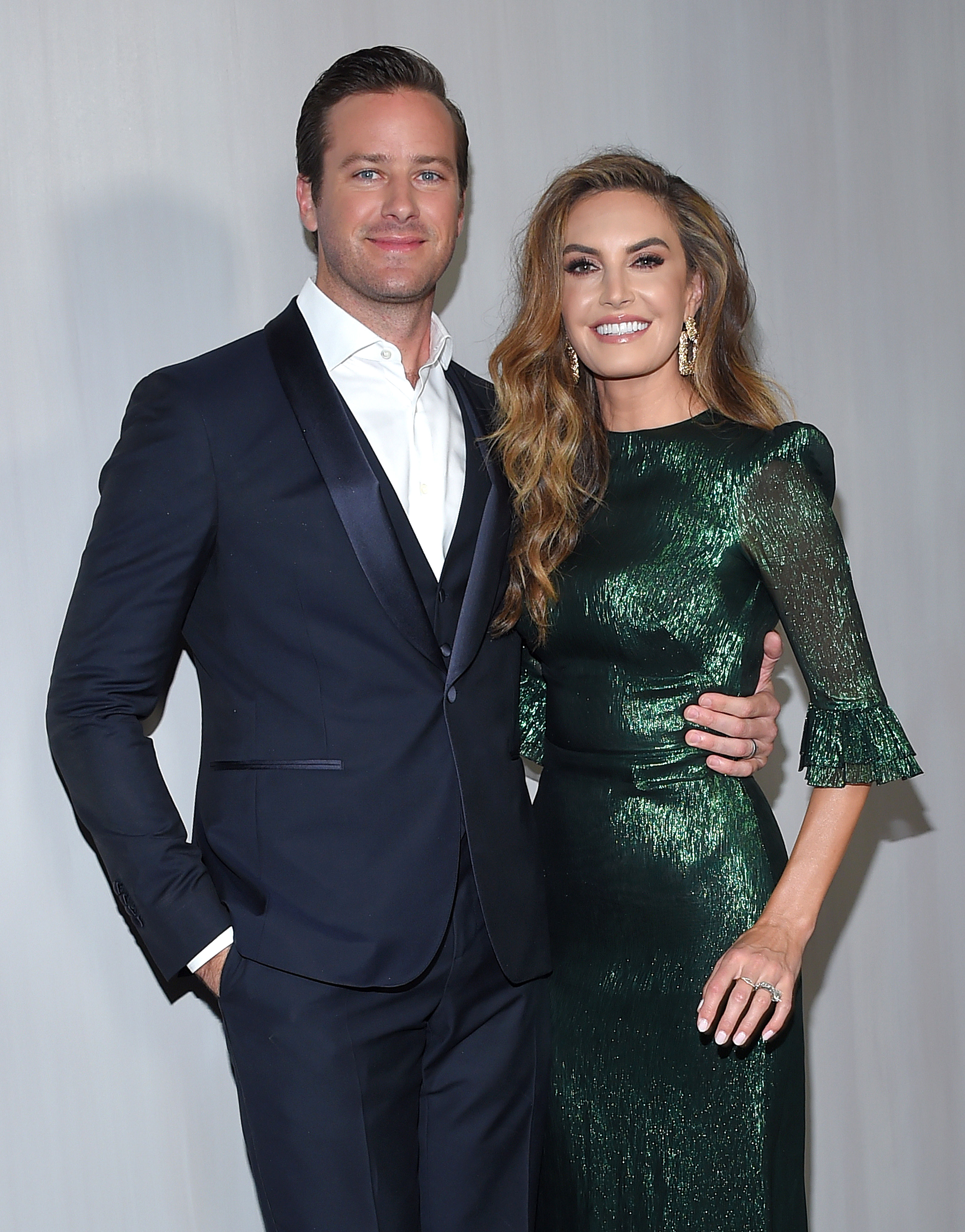 Armie Hammer and Elizabeth Chambers' Holiday Plans - Armie Hammer and Elizabeth Chambers at The Hammer Museum Gala in the Garden 2018 on October 14, 2018 in Los Angeles, California.