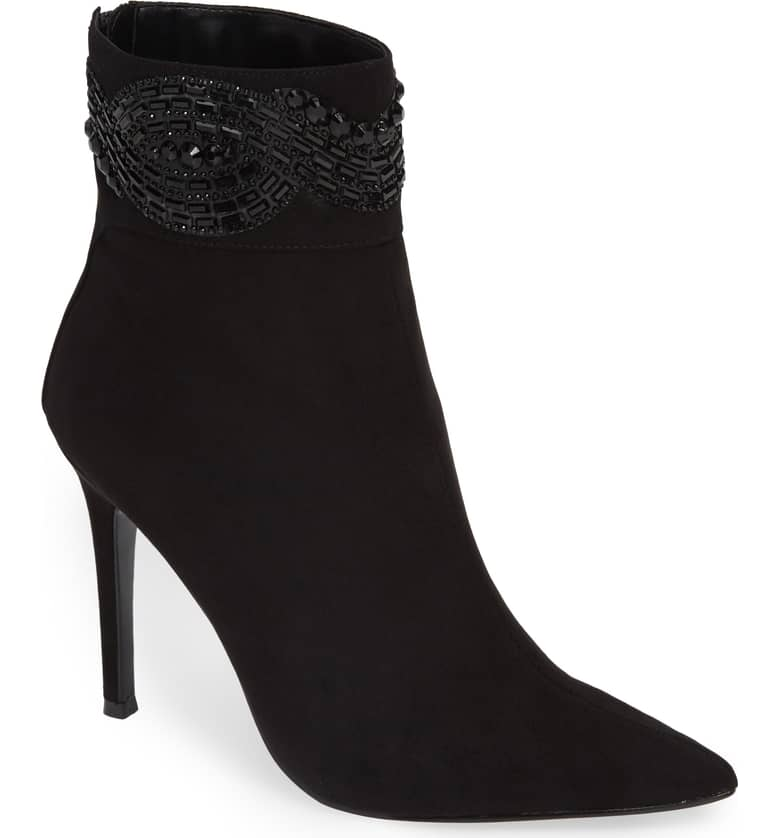 beaded nina ankle bootie
