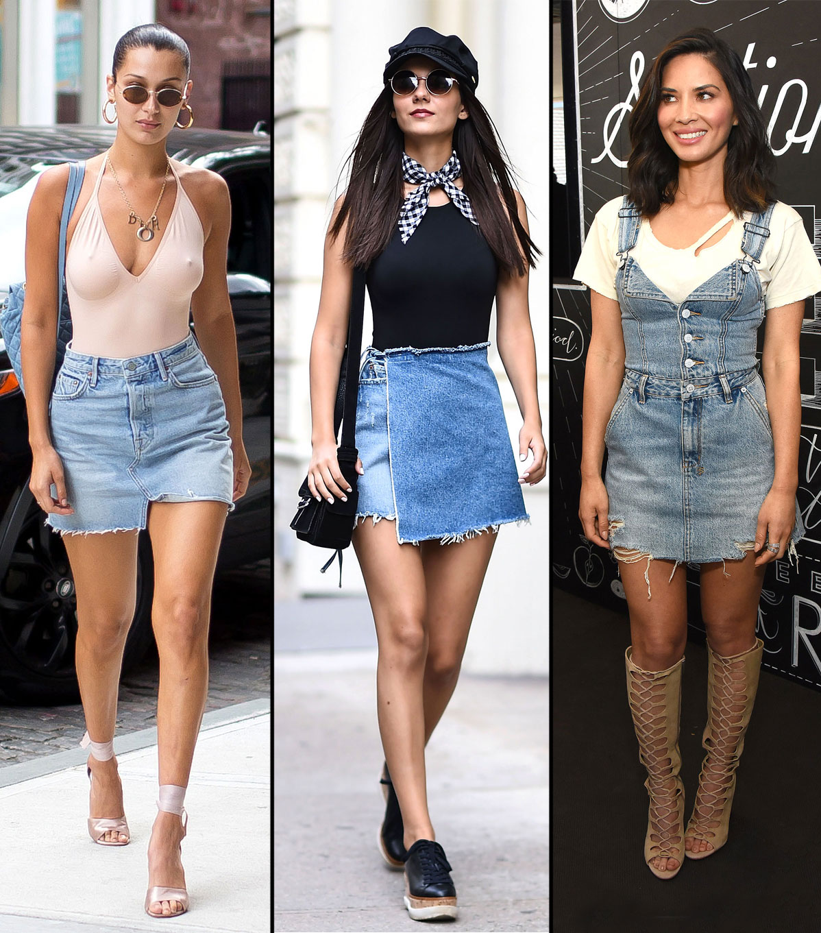 Bella Hadid, Hailey Baldwin and More Hollywood Street Style Stars Are Obsessed With GRLFRND Denim