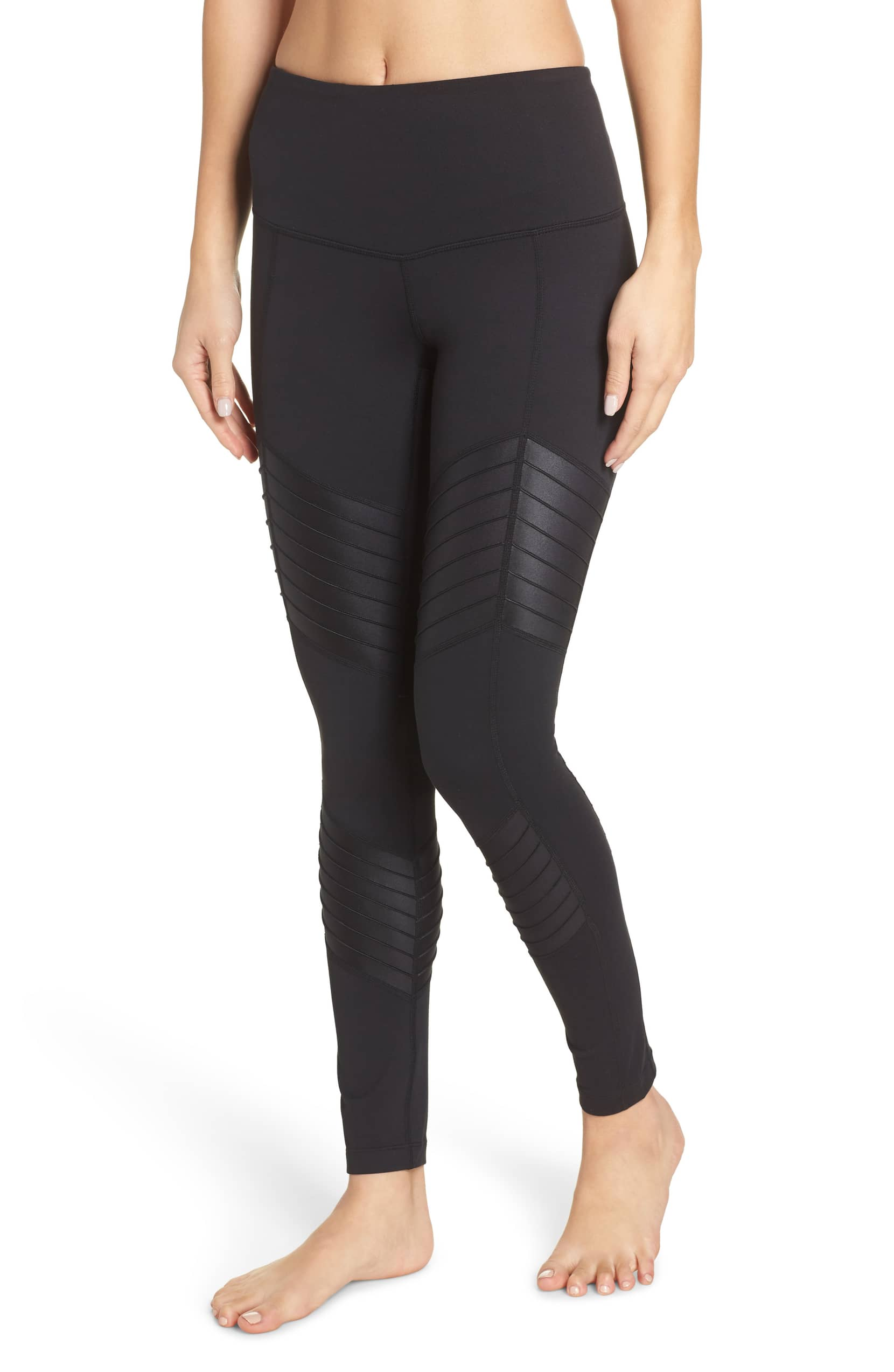 black zella moto leggings nordstrom