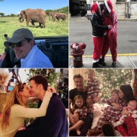 Celebrities Celebrating Christmas 2018
