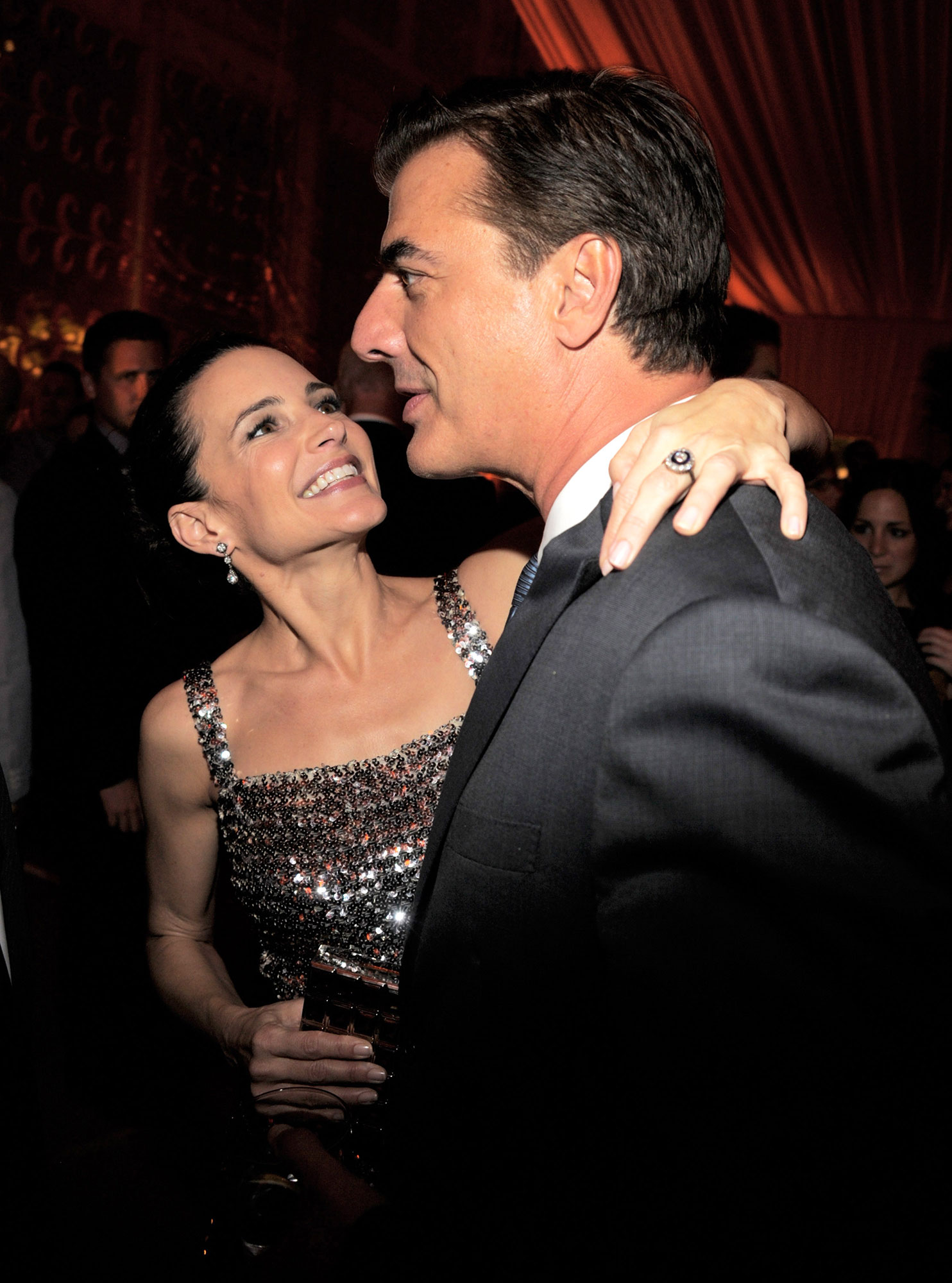 """Kristin Davis and Chris Noth - Kristin Davis and Chris Noth attends the after party for the premiere of """"Sex and the City 2"""" at Lincoln Center for the Performing Arts on May 24, 2010 in New York City."""