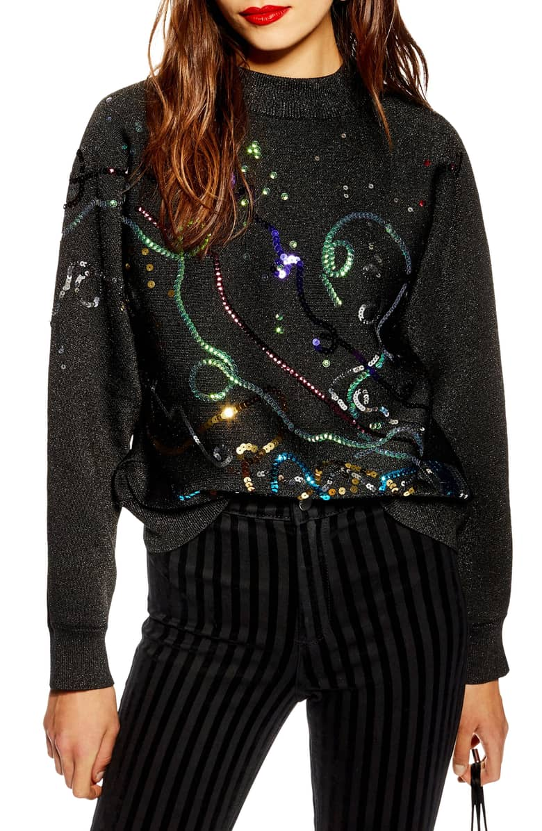 christmas sweater topshop