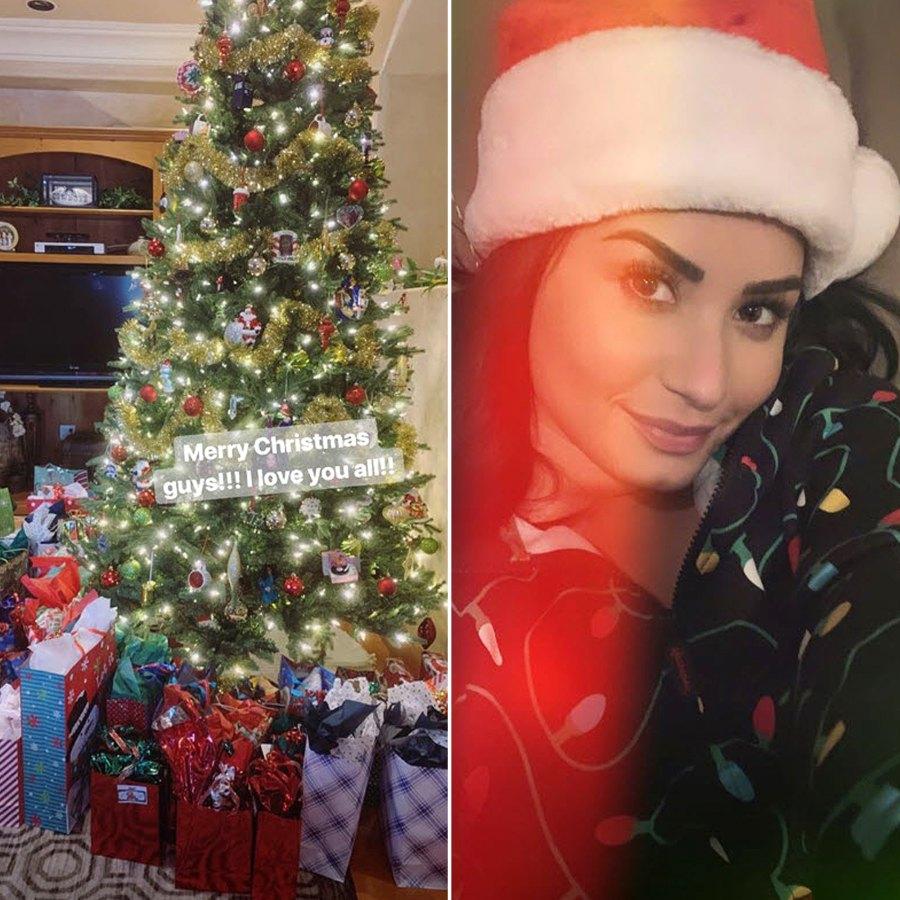 Demi Lovato Christmas 2018