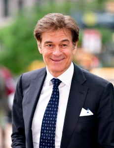 Dr. Oz Reveals His Personal, No-Fail Trick to Help Avoid Holiday Party Hangovers