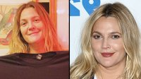 Drew Barrymore, 43, Glows in Makeup-Free Selfie