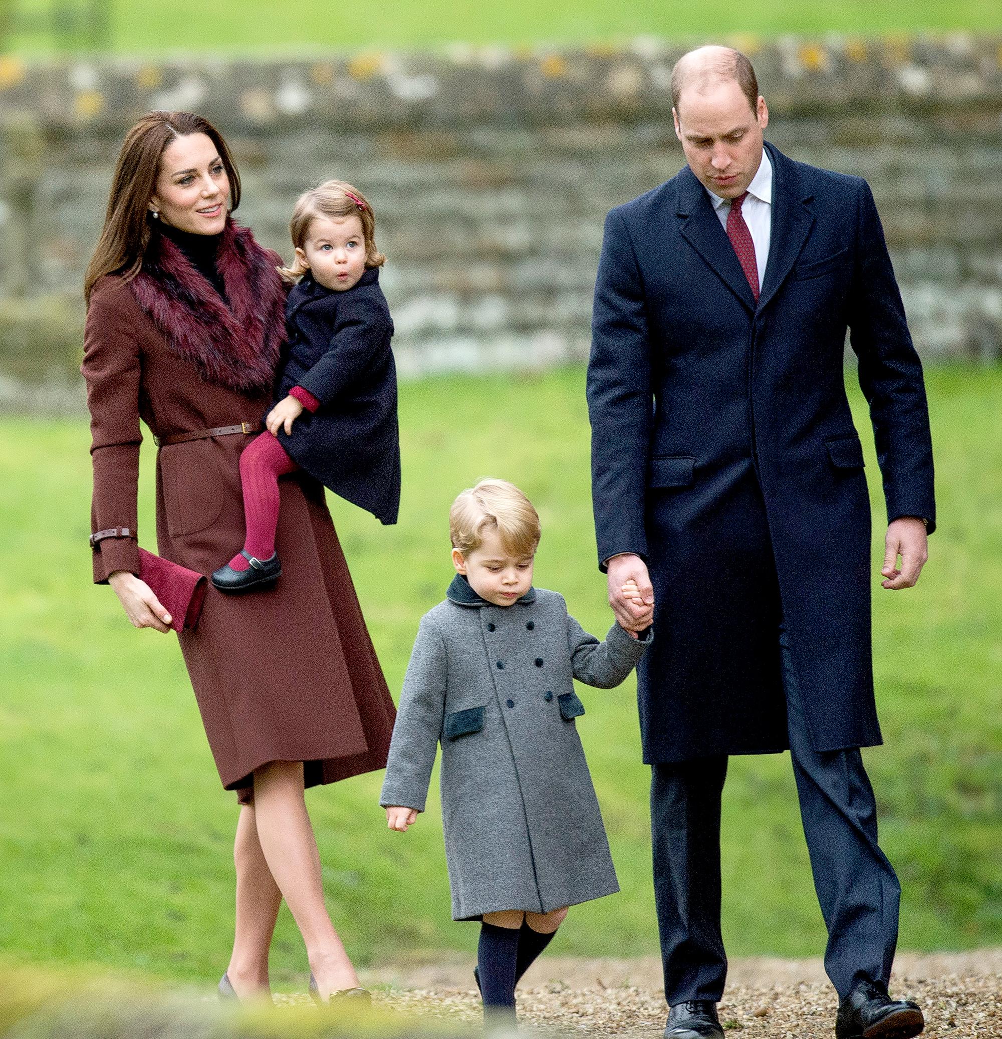 4a6e54eae92 Kate Middleton s Christmas Day Style Through the Years  Pics