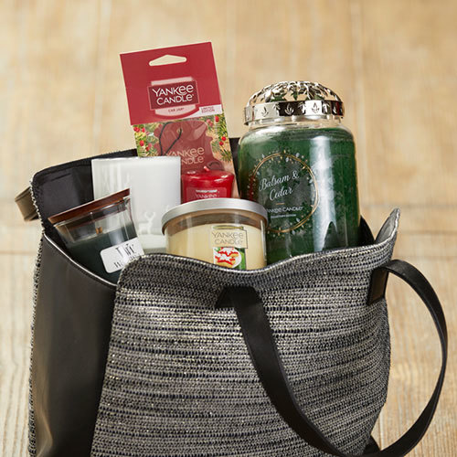 fragrance tote at yankee cnadle