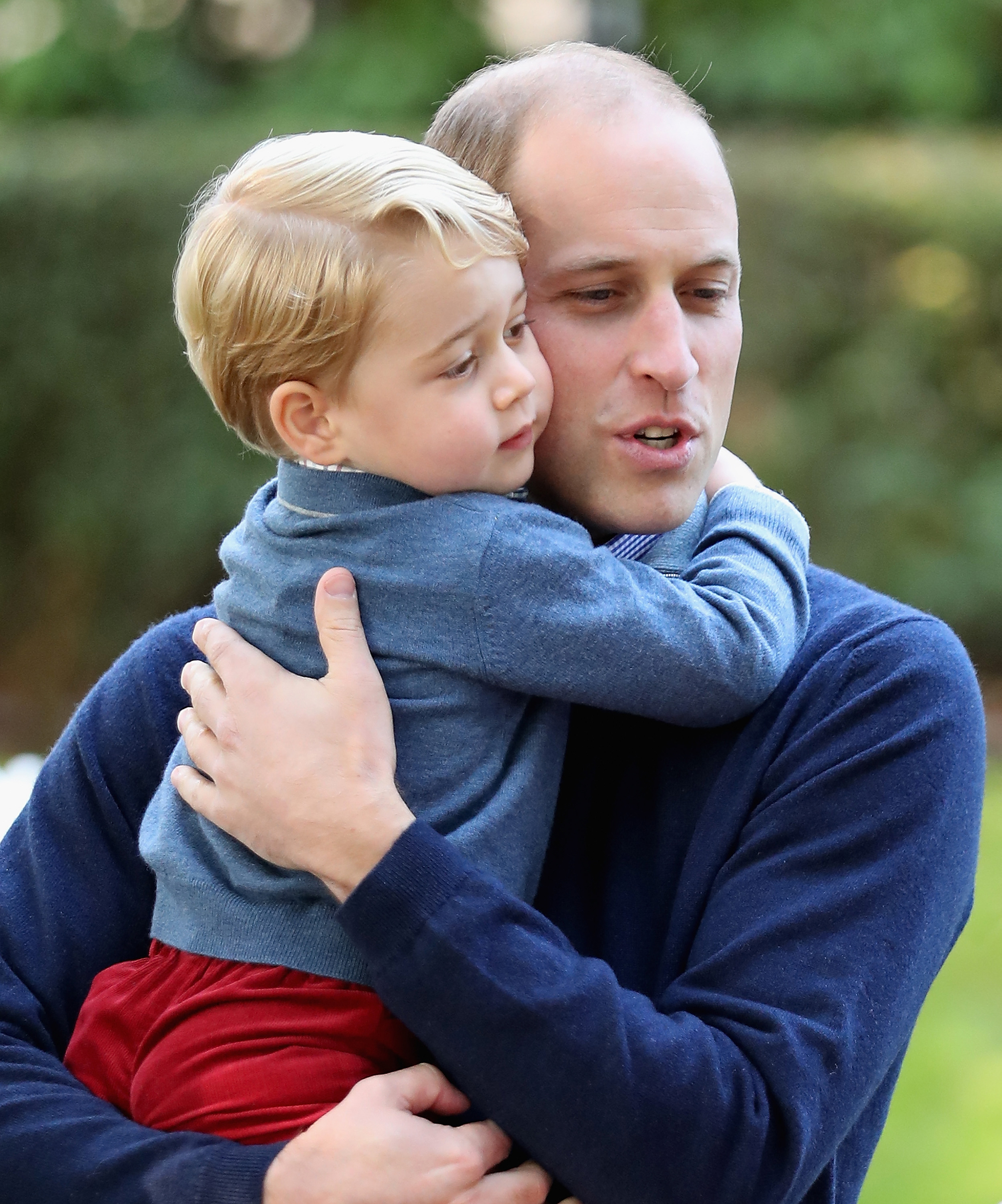 """Royal Family Nicknames - Prince George may be young, but he already has a nickname for his famous father. """"Kate said that William was playing football with the children last night and one of them said — I think it was George — 'Are you playing football tomorrow, Pops?'"""""""