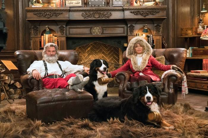 Goldie Hawn Kurt Russell Mr and Mrs Claus The Christmas Chronicles