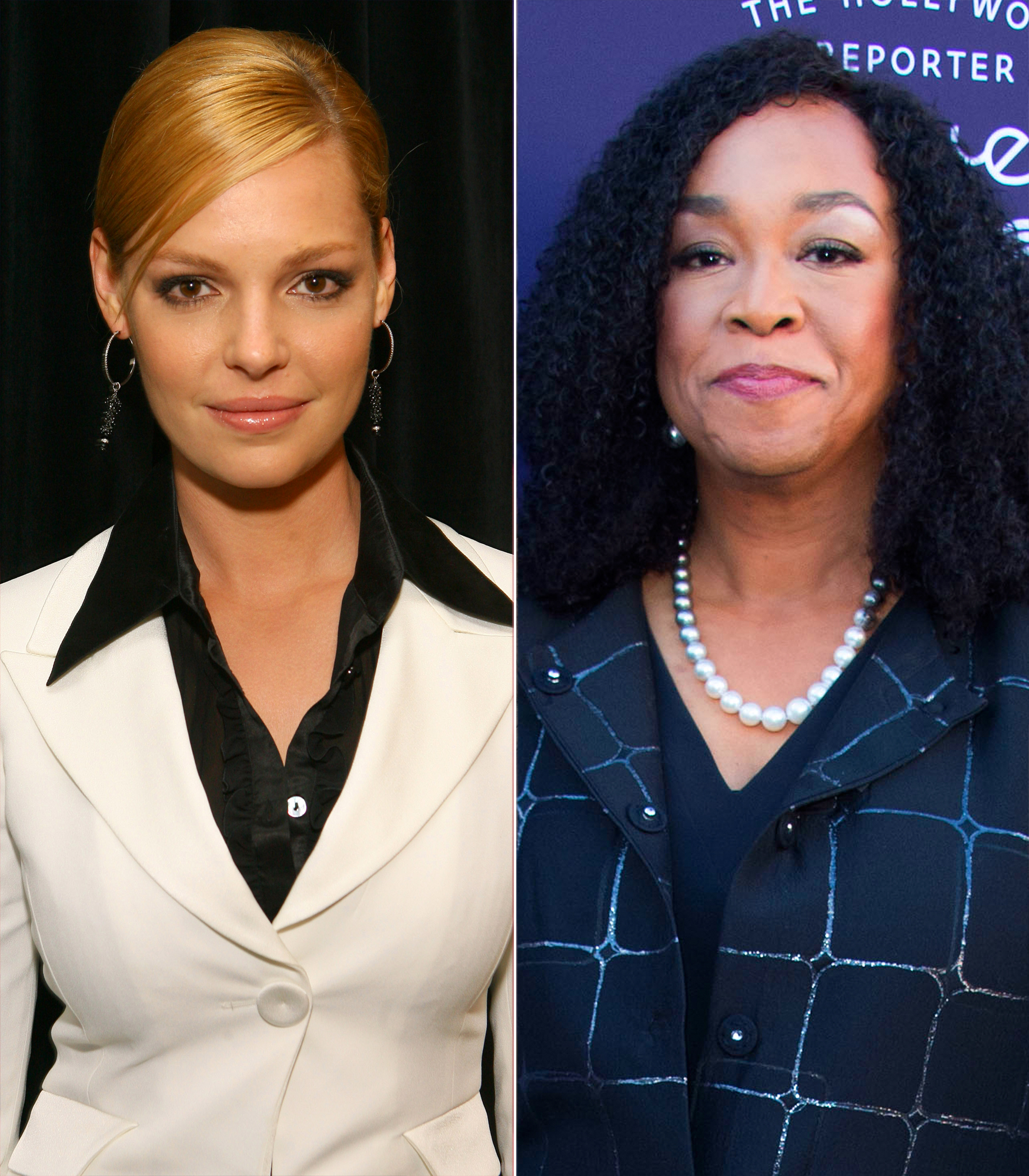 "A Timeline 'Grey's Anatomy' Behind-the-Scenes Drama - A month later, Heigl responded to Rhimes' remarks during an appearance on Extra . ""I'm sorry that she feels that way, and I wish her nothing but greatness, and I have nothing negative to say about Shonda. I'm a big fan of her work,"" she said in November 2014."