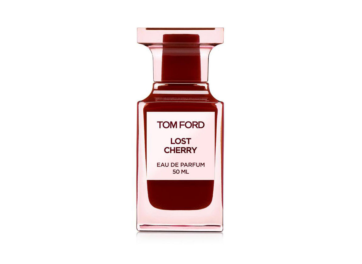 holiday gift guide fragrance- TomFord - Leave it to Tom Ford to make a sundae topping sexy with his tart maraschino-inspired eau de parfum. The best part?