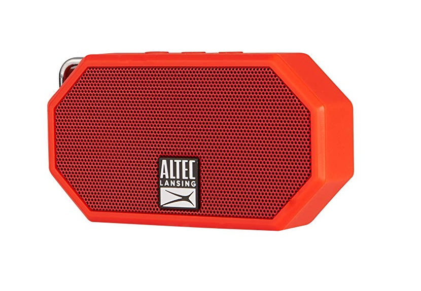 instagram obsessed gift guide-altec speaker - This little mini speaker is lightweight, compact and built to withstand harsh environmental conditions. This hands-free mini box will deliver rich audio for those social media dance-off vids!