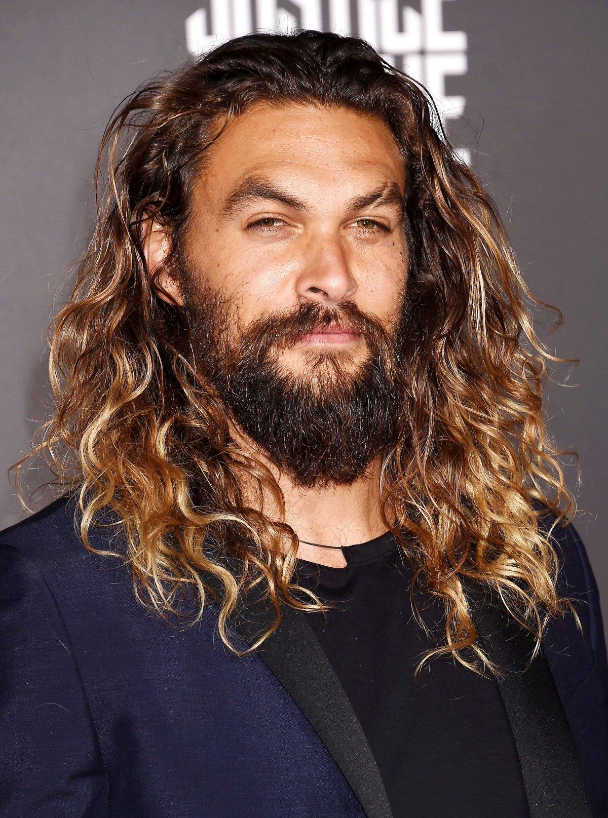 Jason Momoas Hair Evolution From Short To Long Pics
