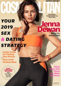 Jenna Dewan covering Cosmo for Wellness