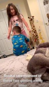 Jwoww Shares 'Rare Moment' of Kids Getting Along Amid Roger Matthews Drama