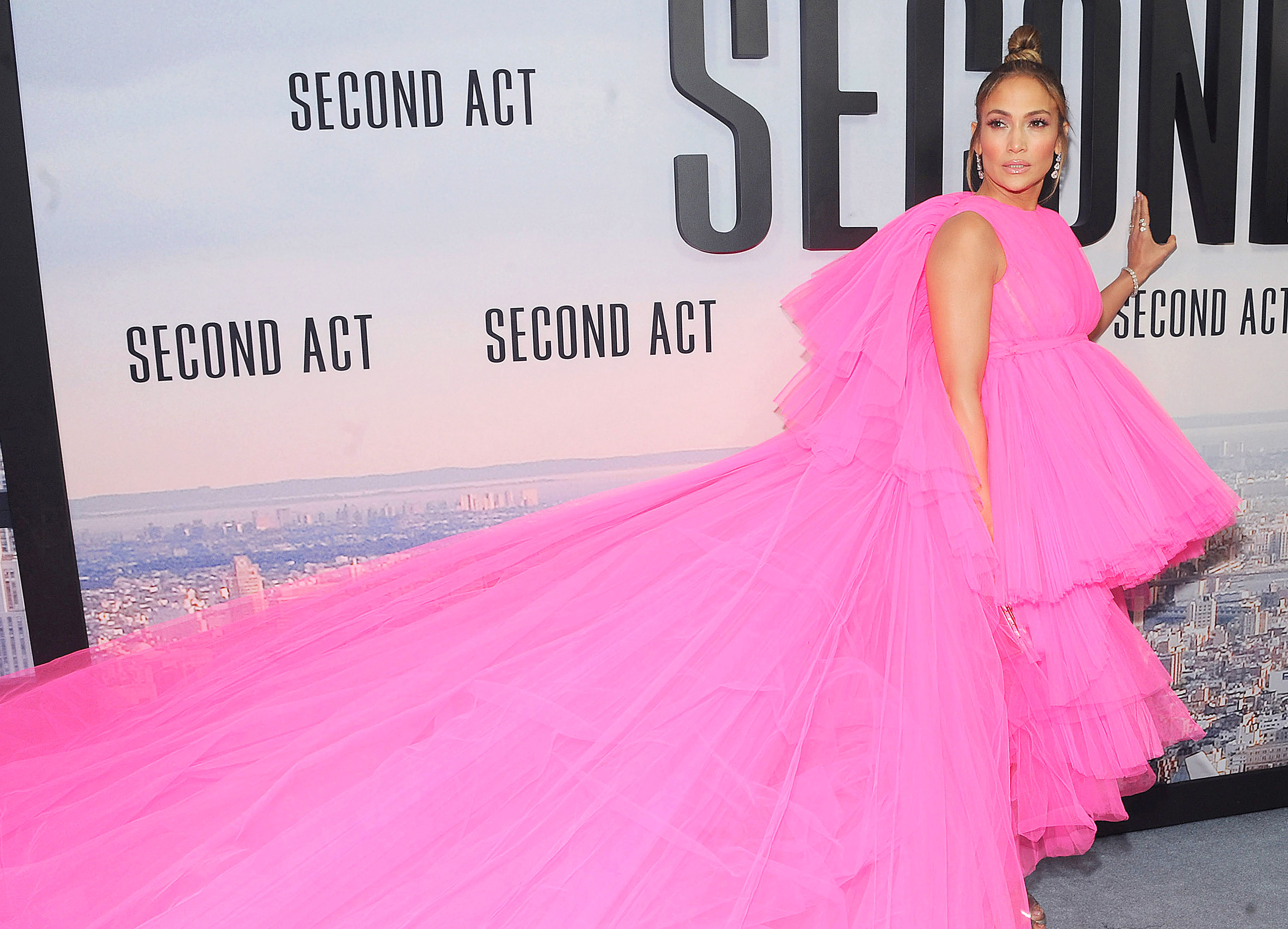 5071787623f Jennifer Lopez  Second Act  Movie Press Tour Outfits  Pics