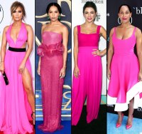 jennifer-lopez-zoe-kravitz-jenna-dewan-tracee-ellis-ross-pink-dress