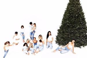 Kim Kardashian 2018 Family Christmas Card