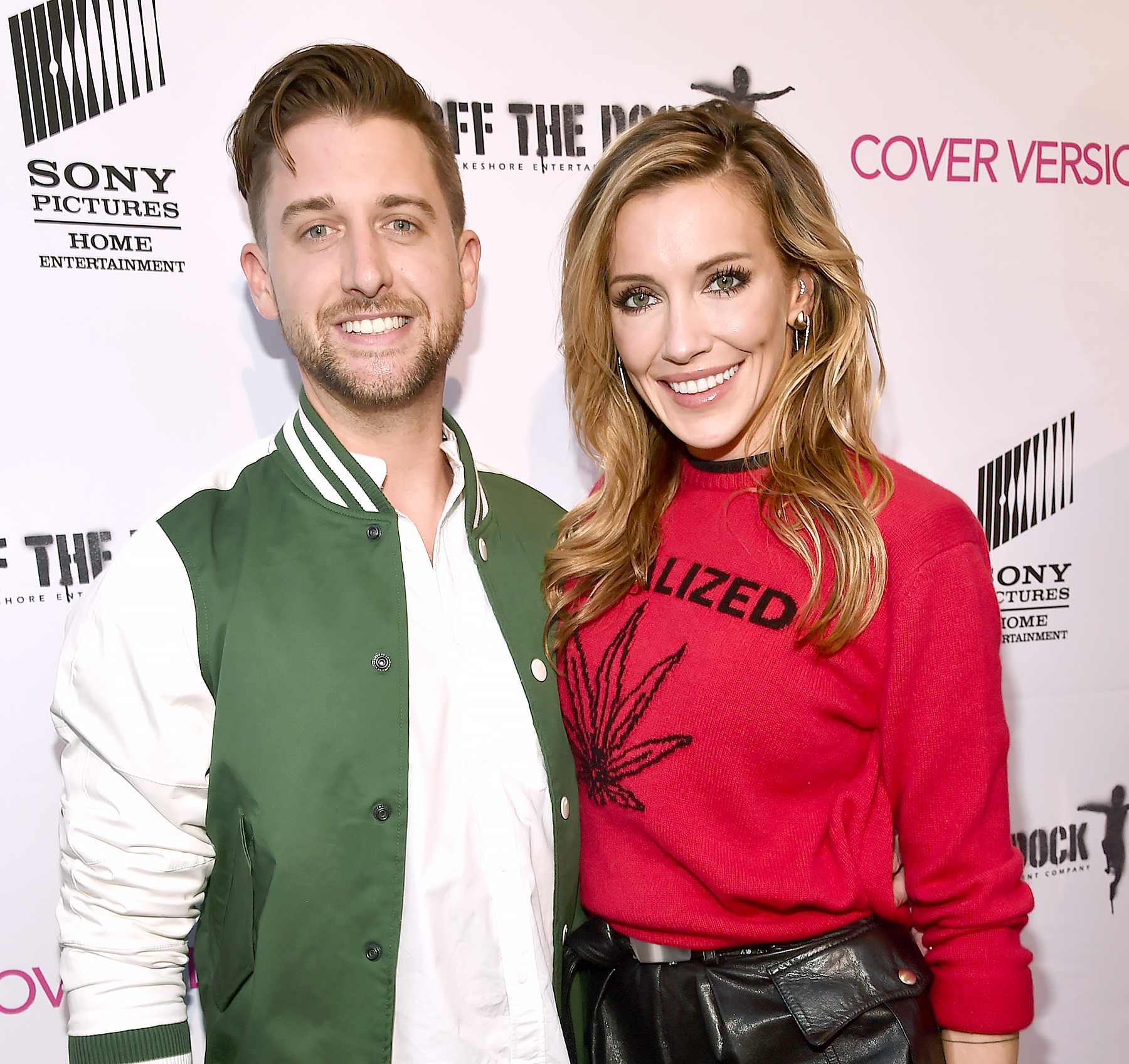 katie-cassidy-marries-matthew-rodgers - The Arrow actress tied the knot with Rodgers in December 2018 in a beach ceremony where she wore a stunning lace gown. Cassidy took to Instagram at the time to give fans a look at their nuptials.