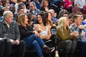 Kendall Jenner Laughs With Ben Simmons' Mom Courtside at 76ers Game