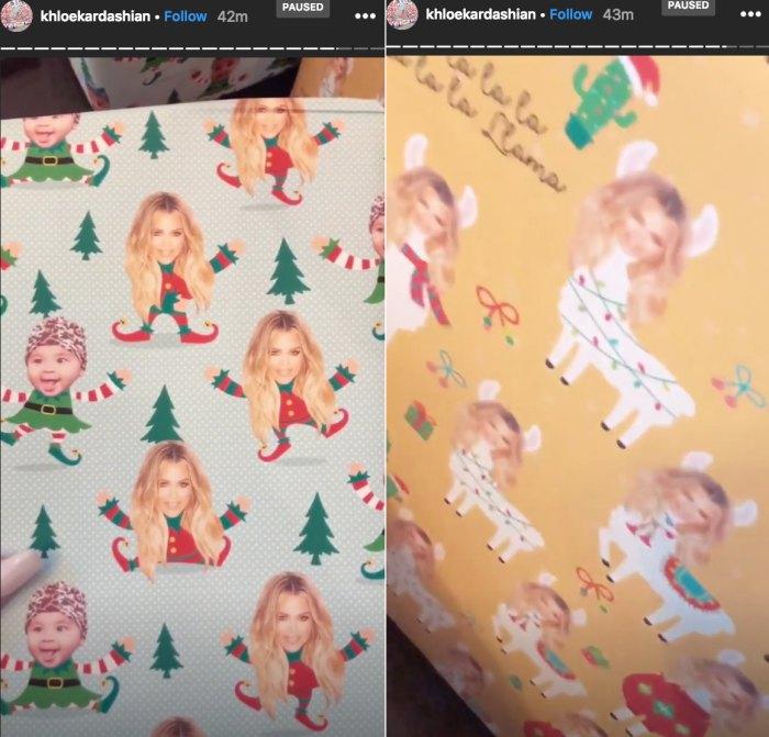 khloe-kardashian-wrapping-paper