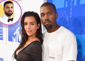 Kim Kardashian, Kanye West, Drake