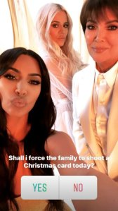 Deck the Halls! A Kardashian Christmas Card May Be Coming After All