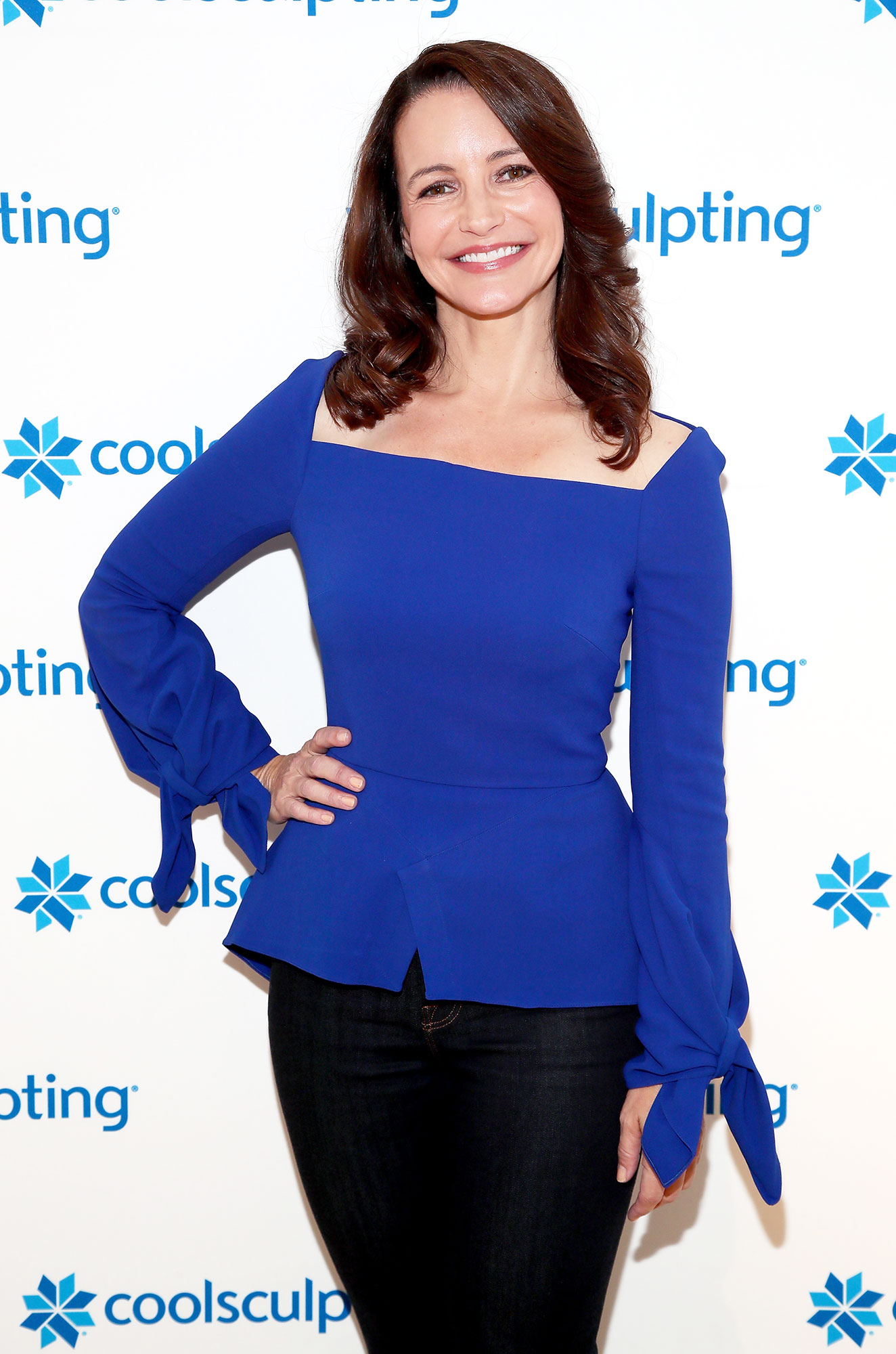 Kristin Davis - Actress, producer, philanthropist and busy mom, Kristin Davis, partnered with CoolSculpting on the Denim Denial campaign to inspire women to learn more about personalized body contouring and fitting in to their favorite pair of denim again! on October 24, 2018 in New York City.