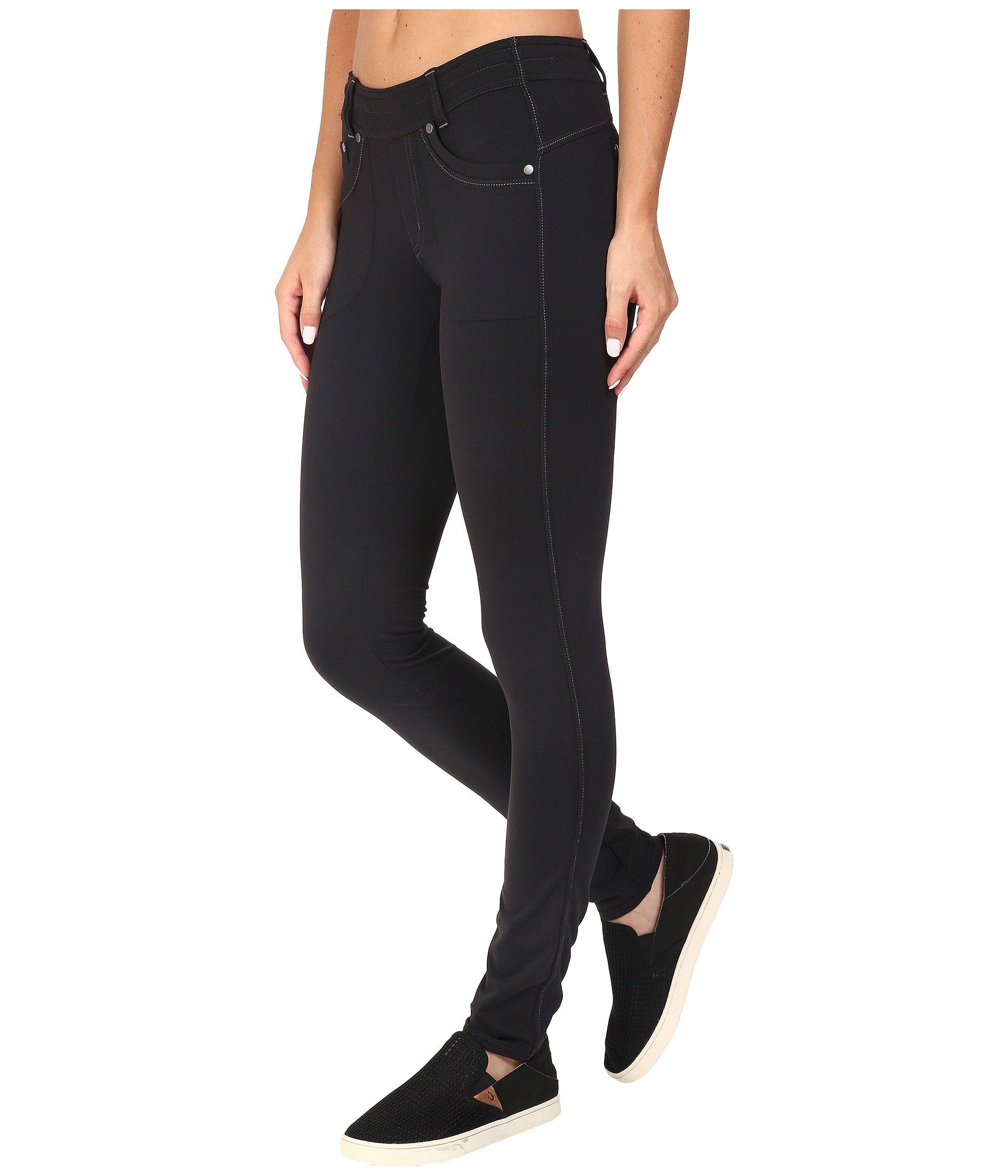kuhl black skinny pants