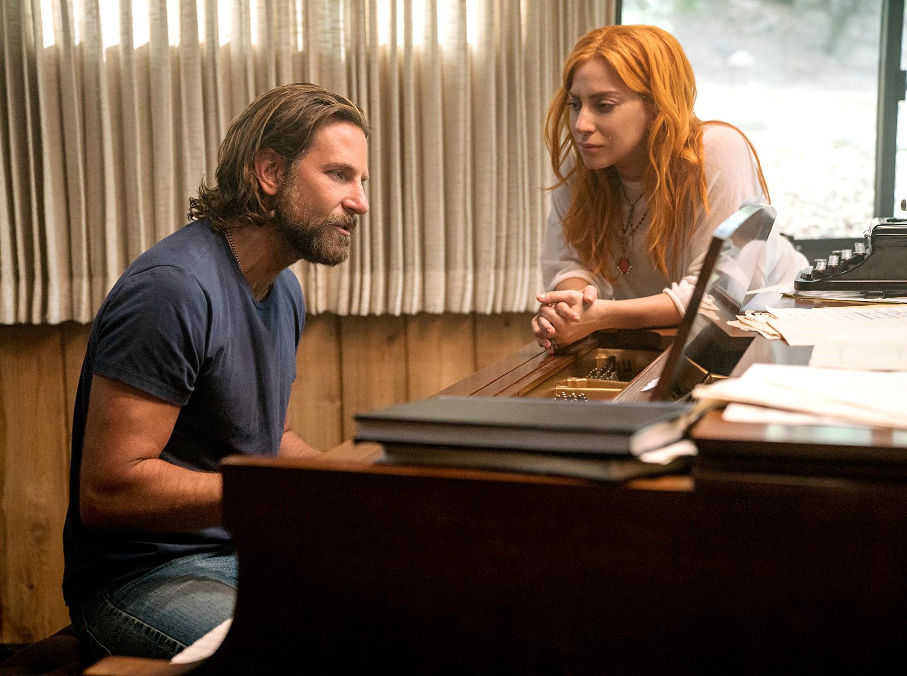 lady-gaga-bradley-cooper-a-star-is-born-golden-globes - Bradley Cooper and Lady Gaga in A Star Is Born