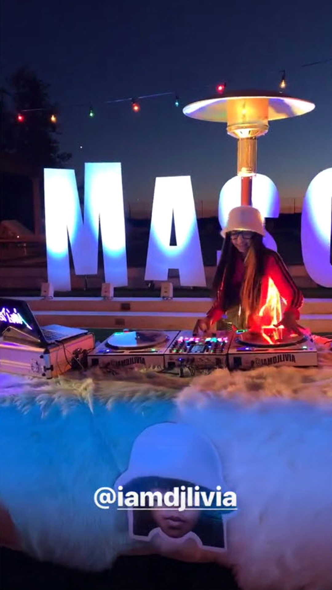 Kourtney Throws Sons a Fortnite-Themed Birthday Party - DJ Livia, 10-year-old viral sensation, was behind the turntables, providing tunes for the event.