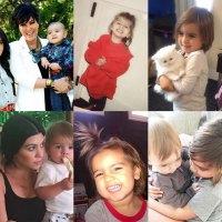 Scott Disick, Kim Kardashian and More Wish Mason and Reign Happy Birthday: Pics